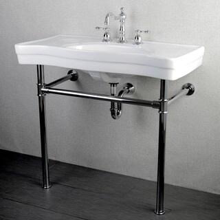 Imperial Vintage 36-inch Wall-mount Chrome Pedestal Bathroom Sink Vanity|https://ak1.ostkcdn.com/images/products/6573333/P14149368.jpg?_ostk_perf_=percv&impolicy=medium