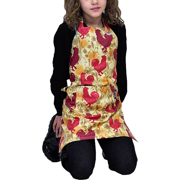 Tango Rooster Stain-resistant Child Apron