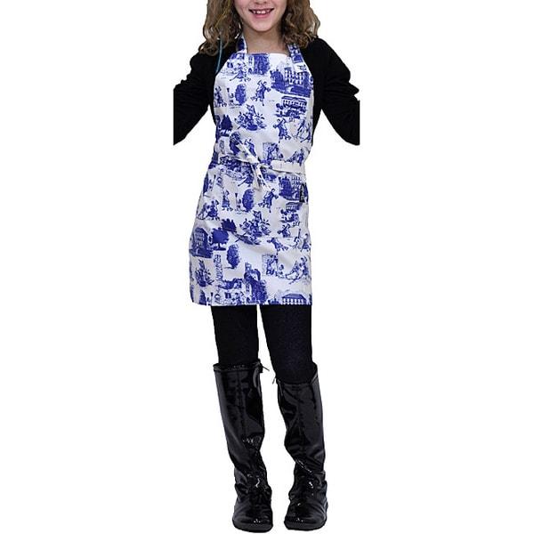 Tango Toile Stain-resistant Child Apron
