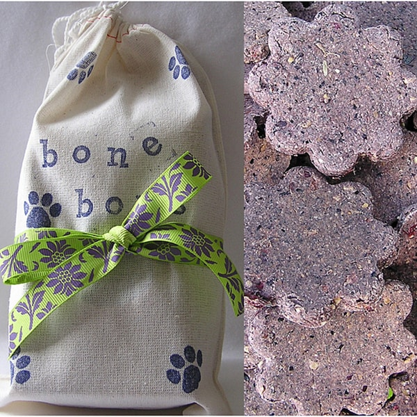Bone Bons Organic 6-oz Gluten Free Lavender Cookies