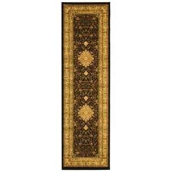 Safavieh Lyndhurst Traditional Oriental Black/ Ivory Rug (2'3 x 18')