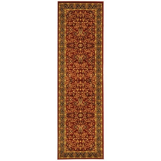 Safavieh Lyndhurst Traditional Oriental Red/ Black Rug (2'3 x 18')