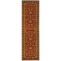 "Safavieh Lyndhurst Traditional Oriental Red/ Black Rug - 2'3"" x 18'"