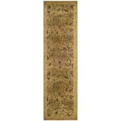 Safavieh Lyndhurst Traditional Paisley Beige/ Multi Rug (2'3 x 18')