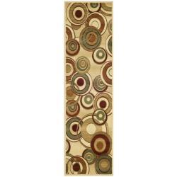 Safavieh Lyndhurst Contemporary Ivory/ Multi Rug (2'3 x 18')