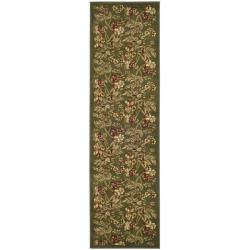 Safavieh Lyndhurst Traditional Floral Sage Rug (2'3 x 6')