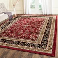 Safavieh Lyndhurst Traditional Oriental Red/ Black Rug - 9' x 12'