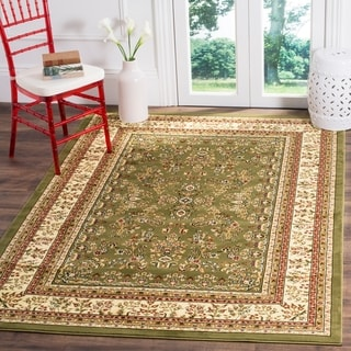 Safavieh Lyndhurst Traditional Oriental Sage/ Ivory Rug (8' 11 x 12' rectangle)