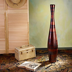 Copperworks Medium Trumpet Floor Vase (Indonesia)