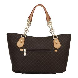 Rioni Signature Print Chain-handled Canvas Tote - Thumbnail 2