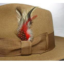 Ferrecci Kid's Camel Fedora Hat