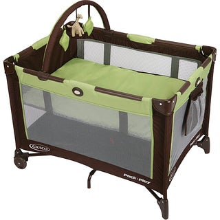 Graco Pack n' Play Go Green Playard with Bassinet