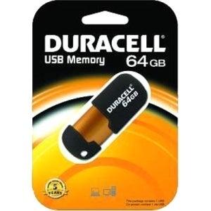 Duracell 64GB USB 2.0 Flash Drive