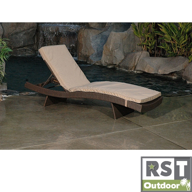 RST DelanoOutdoor Lounger Mattress Cushion Set (2 pack) - Thumbnail 0