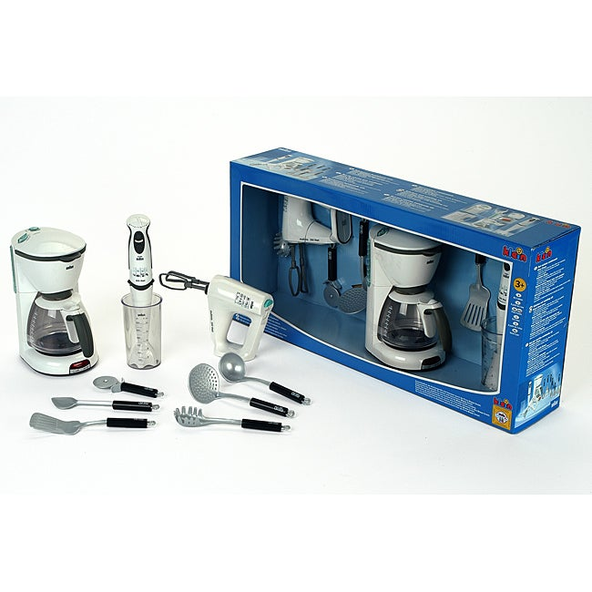 Theo Klein Braun Kitchen Set - Thumbnail 0