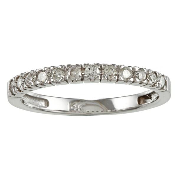 14k Gold 2/5ct TDW Round Diamond Wedding Band (H-I, I1-I2)