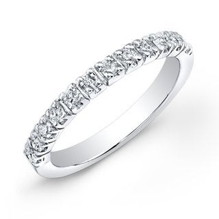 14k Gold 2/5ct TDW Round Diamond Wedding Band by Auriya