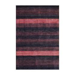 Herat Oriental Indo Hand-knotted Tibetan Brown Wool Area Rug (4' x 6')