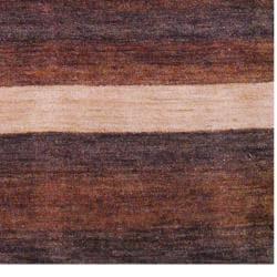 Herat Oriental Indo Hand-knotted Tibetan Terracotta Wool Rug (4' x 6') - Thumbnail 2