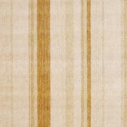 Herat Oriental Indo Hand-knotted Beige Tibetan Wool Rug (4' x 6') - Thumbnail 1