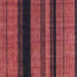 Herat Oriental Indo Hand-Knotted Striped Tibetan Rust Wool Rug (4' x 6') - Thumbnail 1
