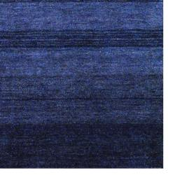 Herat Oriental Contemporary Indo Hand-knotted Tibetan Blue Wool Rug (4' x 6')