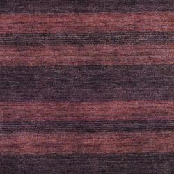 Herat Oriental Indo Hand-knotted Tibetan Rust Wool Rug (4' x 6') - Thumbnail 1