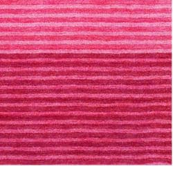 Herat Oriental Indo Hand-knotted Tibetan Contemporary Red/ Pink Wool Rug (4' x 6')