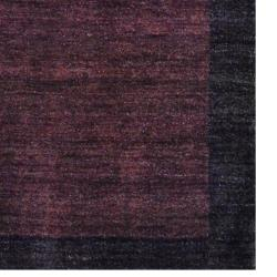 Indo Hand-Knotted Tibetan Brown/Dark Brown Wool Rug (4' x 6') - Thumbnail 2