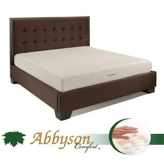 Abbyson Comfort 'Sleep-Green' 8-inch Full-size Memory Foam Mattress