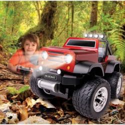 Blue Hat Remote-controlled Off-road Safari Truck with LED Lights - Thumbnail 1
