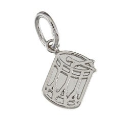 La Preciosa Sterling Silver Small Drum Charm