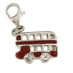 La Preciosa Sterling Silver Red Enamel Double-decker Bus Charm|https://ak1.ostkcdn.com/images/products/6575140/La-Preciosa-Sterling-Silver-Red-Enamel-Double-decker-Bus-Charm-P14150666.jpg?impolicy=medium
