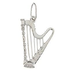 La Preciosa Sterling Silver 'Harp' Charm