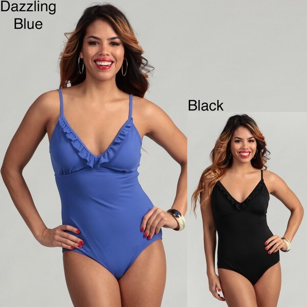 Jantzen Women's Ruffle 1-piece Swimsuit