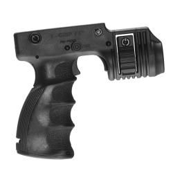 Mako Tactical Foregrip With 1-inch Weapon Light Adapter and Integrated Trigger