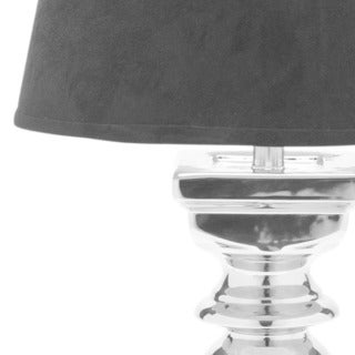 Safavieh Lighting 28-inch Elegance Black Velvet Table Lamp (Set of 2)