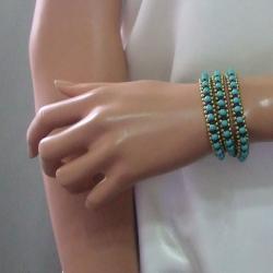 Triple Wrap Fusion Cotton Rope Bracelet (Thailand)