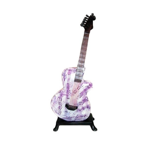 Note guitar table lamp free shipping today overstock 945126 note guitar table lamp aloadofball Image collections