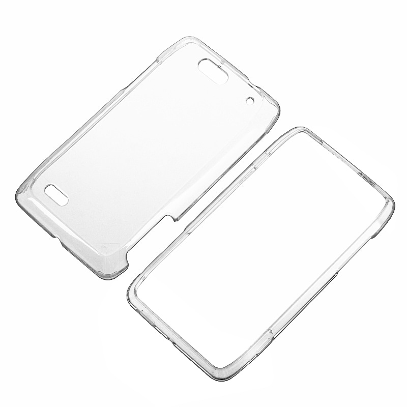 Clear Snap-on Crystal Case for Motorola Droid 4
