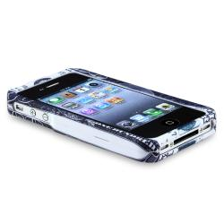INSTEN Hundred Dollar Snap-on Rubber Coated Phone Case Cover for Apple iPhone 4/ 4S - Thumbnail 2