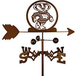 University of Wisconsin Badgers Bucky Weathervane