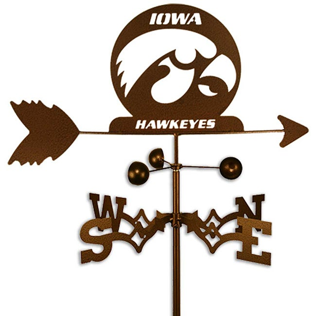 Shop University of Iowa Hawkeyes Weathervane - Free Shipping Today ...