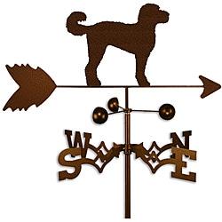 Labadoodle Dog Weathervane