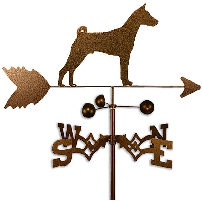 Basenji Dog Weathervane