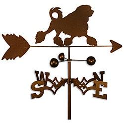 Handmade Lowchen Dog Copper Weathervane