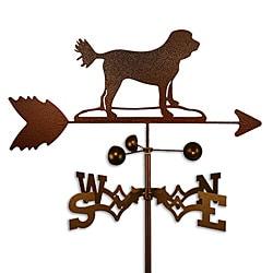 Handmade Cockapoo Dog Copper Weathervane