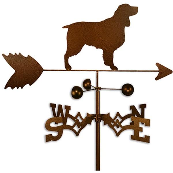 Handmade Springer Spaniel Dog Copper Weathervane