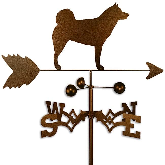 Alaskan Malamute Dog Weathervane