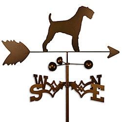 Airedale Dog Weathervane